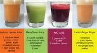 Drinks - Juice Drink Recipes