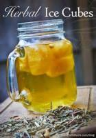 Drinks - Herbal Ice Cubes