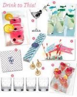 Drinks - Rosemary Fruit Punch