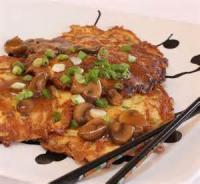 Eggs - Entree -  Egg Foo Yung With Shrimp