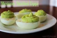Eggs - Mexican Deviled Eggs