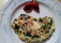 Eggs - Omelet -  Spinach And Mushroom Omelet
