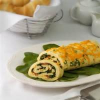 Eggs - Omelet -  Swiss Omelet Roll