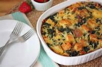 Eggs - Savory Breakfast Strata