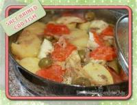 Fishandseafood - Cod Potato, Onion, And Salt Cod Casserole