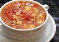 Fishandseafood - Manhattan Clam Chowder
