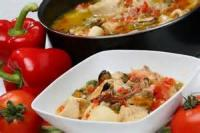 Fishandseafood - Seafood Stew With Tomatoes And Basil