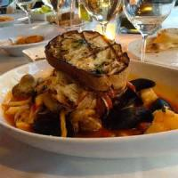 Fishandseafood - Large Shell Pasta With Seafood Sauce