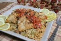 Fishandseafood - Fish -  Broiled Fish With Walnut Butter