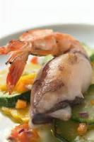 Fishandseafood - Salmon  Salad Koren