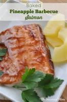 Fishandseafood - Salmon -  Barbecue Roasted Salmon