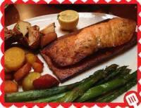 Fishandseafood - Salmon -  Cedar Grilled Salmon