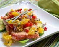 Fishandseafood - Salmon -  Orange Salmon Steak