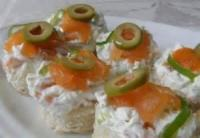 Fishandseafood - Salmon -  Salmon Canapes