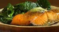 Fishandseafood - Lemon Butter Broiled Salmon Steaks
