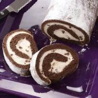 Low_fat - Chocolate Filled Cake Roll