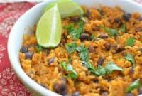 Low_fat - Mexican Black Beans And Rice