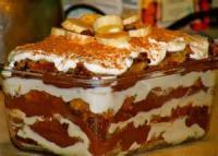 Low_fat - Chocolate-banana Trifle