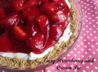 Low_fat - Strawberry Cream Pie