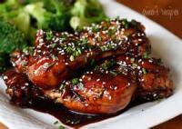 Low_fat - Chicken -  Chinese Style Glazed Chicken