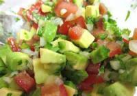 Low_fat - Chili -  Quick Vegetarian Chili With Avocado Salsa