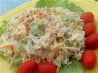 Low_fat - Salad -  Citrus Seafood Salad
