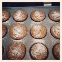 Low_fat - Muffins -  Fat-free Pumpkin Muffins