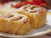 Low_fat - Bread -  Pumpkin-cinnamon Streusel Buns