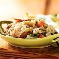 Low_fat - Chicken -  Barbecued Chicken Pot Pie