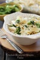 Low_fat - Chicken -  Chicken And Broccoli Fettuccine Alfredo