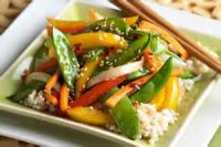 Low_fat - Stir Fried Rice With Vegetables