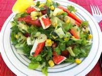 Low_fat - Tropical Romaine Salad Dressing