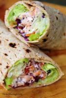 Low_fat - Chicken -  Crunchy Chicken Salad Wraps