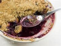 Low_fat - Dessert -  Blueberry-peach Crisp