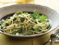 Low_fat - Pasta -  Spaghetti With Smoked Mozzarella
