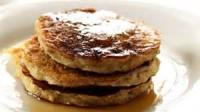 Low_fat - Breakfast -  Oatmeal-buttermilk Pancakes