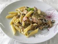 Low_fat - Pasta -  Farfalle Carbonara