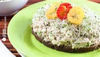 Low_fat - Salad -  Alfalfa Sprout Salad