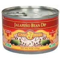 Mexican And Hispanic - Jalapeno Bean Dip