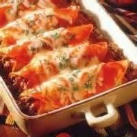 Mexican And Hispanic - Garlicky Beef Enchiladas