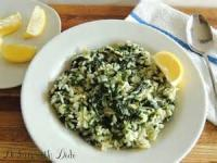 Rice - Spinach And Rice-greek Style (spanakariso)