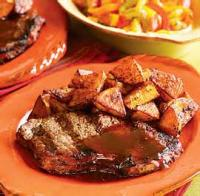 Mexican And Hispanic - Beef -  Beef Steak With Avocado Sauce