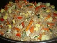Rice - Stir Fried Rice With Vegetables