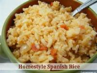 Rice - Side -  Spanish Rice By Barbca