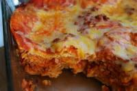 Mexican And Hispanic - Enchiladas -  Tomato Enchilada Bake