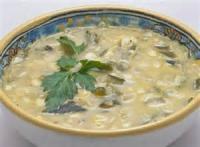 Mexican And Hispanic - Soup -  Crema De Chile Poblano