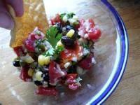 Mexican And Hispanic - Salsa -  Spicy Black Bean Salsa