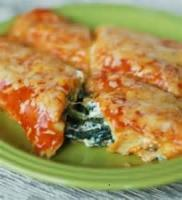 Mexican And Hispanic - Spinach Enchiladas