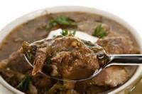 Mexican And Hispanic - Stew -  Pork Stew With Tomatillos