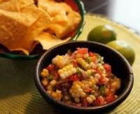 Mexican And Hispanic - Roasted Corn And Black Bean Salsa